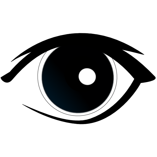 eye clip clipart vector cliparts clker eyes eyeball cartoon template