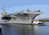 Uss Nimitz (cvn 68), Makes A Port Visit In Pearl Harbor Before Continuing On Her