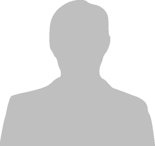 grey silhouette of man3 clip art at clkercom vector