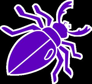 Purple Beetle Clip Art at Clker.com - vector clip art ... Eagle Silhouette Vector