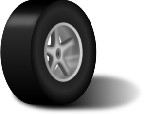 Tire With Rim Clip Art