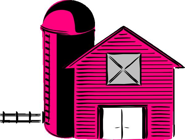 pink barn clip art at clker com vector clip art online royalty rh clker com