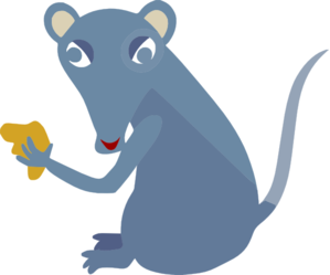 Cheesy Mouse Clip Art