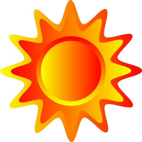 red orange and yellow sun clip art at vector clip art online royalty free public. Black Bedroom Furniture Sets. Home Design Ideas