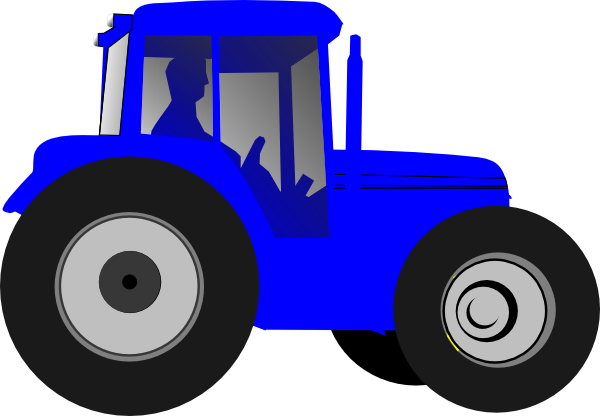 Ford Tractor Cartoon : Tractor clip art at clker vector online