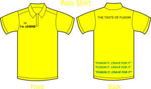 Polo Shirt Yellow Clip Art
