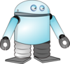 Cartoon Robot Clip Art