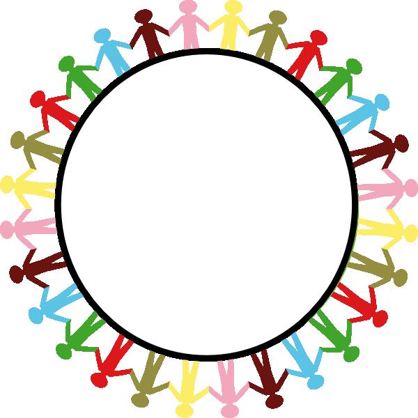 Circle holding hands clip art at clker com vector clip art online
