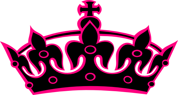 Pink Tiara Clip Art at Clker.com - vector clip art online, royalty ...