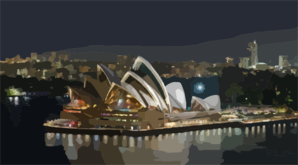 Sydney Opera House Dec Clip Art