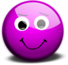 Glassy Smiley Emoticon Clip Art