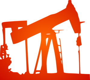 Flame Oil Drill Clip Art