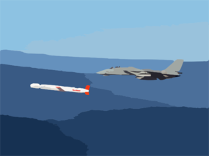 A Tactical Tomahawk Block Iv Cruise Missile Clip Art