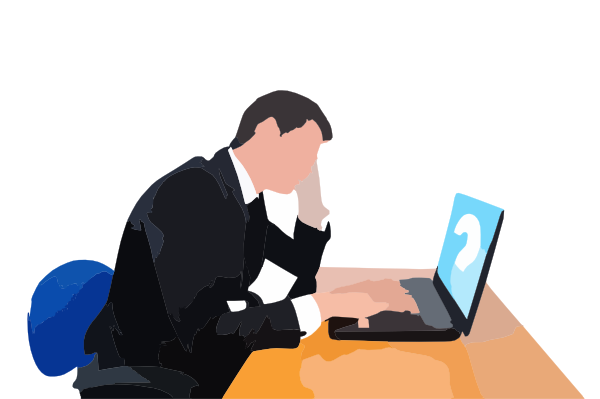 sad people clip art at clkercom vector clip art online