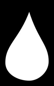 white tear drop clip art at clker com vector clip art online rh clker com