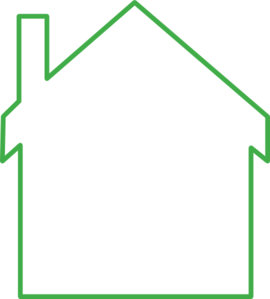 green house outline clip art at clker com vector clip art online rh clker com House Sketch Clip Art home outline clip art
