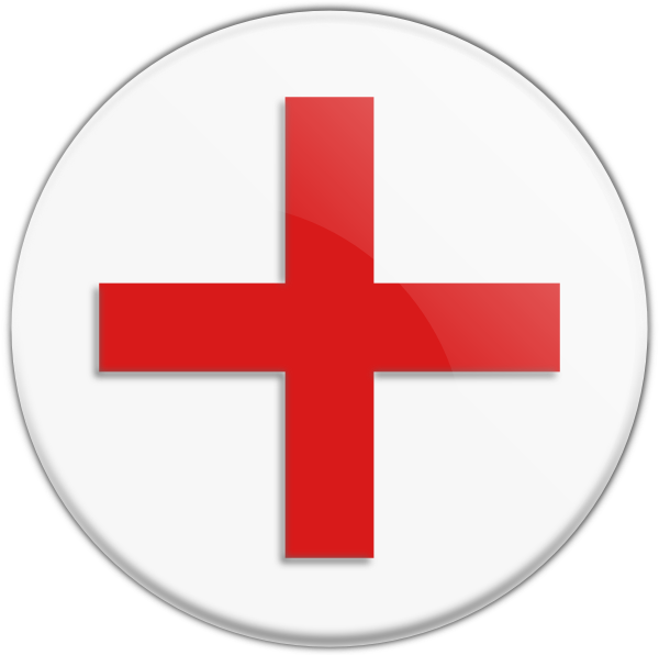 Red Cross Icon Clip Art at Clker.com - vector clip art ...