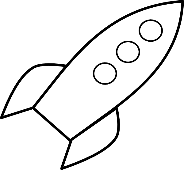 Rocket Clip Art at Clker.com - vector clip art online, royalty free ...