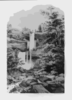 Kaaterskill Falls. Catskill Mountains Clip Art
