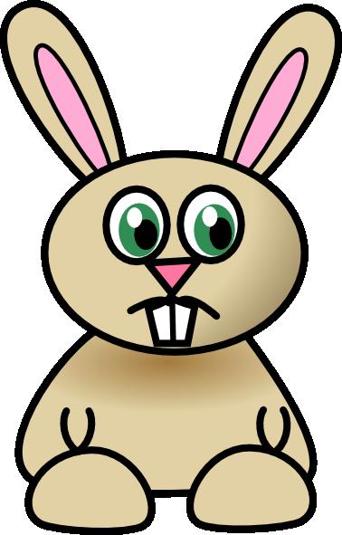 Sad Bunny Clip Art at Clker.com - vector clip art online ...