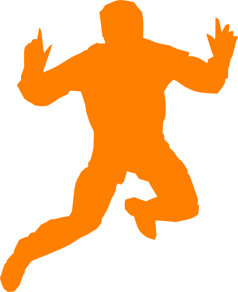 Man Jumping Clip Art at Clker.com - vector clip art online, royalty ...