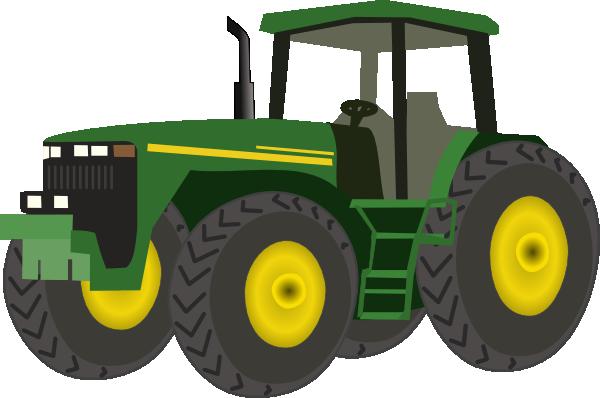 Green Tractor Clip Art At Clkercom Vector Clip Art Online