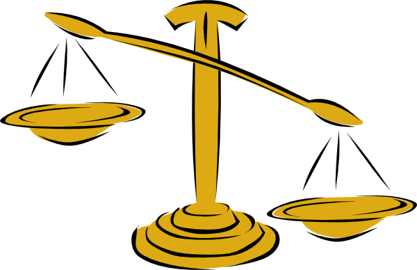 unbalanced scale right clip art at clker com vector clip art rh clker com Judge Clip Art Judge Clip Art