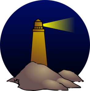 Lighthouse Clip Art at Clker.com - vector clip art online, royalty ...