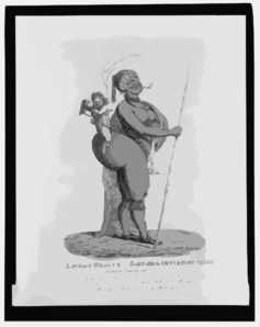 Love And Beauty--sartjee The Hottentot Venus Clip Art