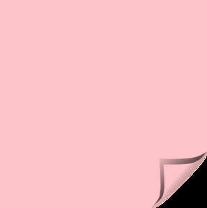 pink postit clip art at clkercom vector clip art online