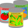 Canned Veggies Clip Art