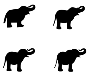 Elephant For Mr Debarr Clip Art