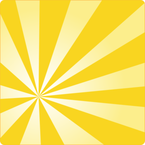 yellow rays vector - photo #6