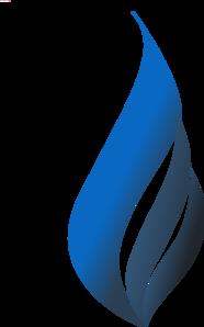 My Blue Flame Clip Art at Clker.com - vector clip art ...