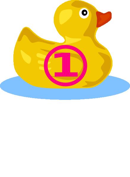 Rubber Ducky 1 Clip Art At Clker Com Vector Clip Art