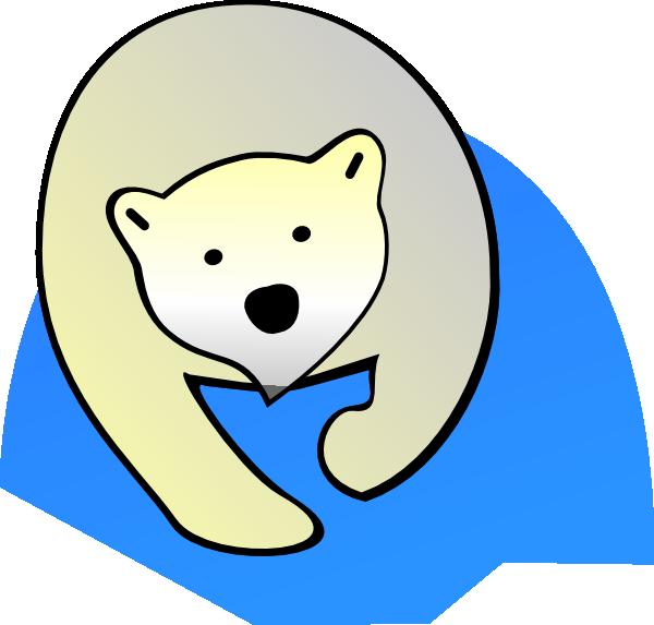 Polar bear clip art at clker com vector clip art online royalty