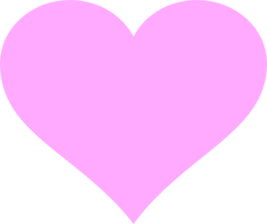 Pink Purple Heart Clip Art