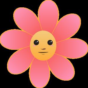 Cute flower clipart