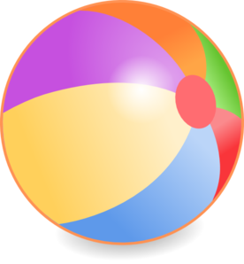 beach ball clip art at clker com vector clip art online royalty rh clker com beach ball vector image free beach ball flat vector