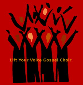 Lift Your Gospel Choir Clip Art