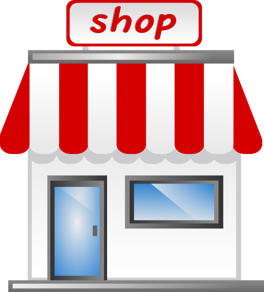 Shop Front Icon Clip Art at Clker.com - vector clip art ...