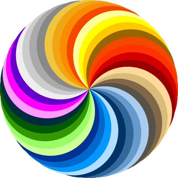Pinwheel Of Colors Clip Art at Clker.com - vector clip art ...