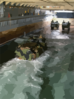 Aav Assault Vehicles Enter The Uss Fort Mchenry Well Deck Clip Art