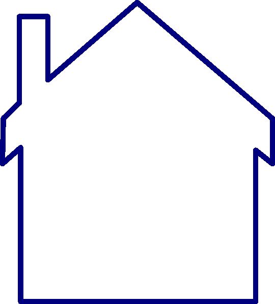 clip art blue house - photo #34