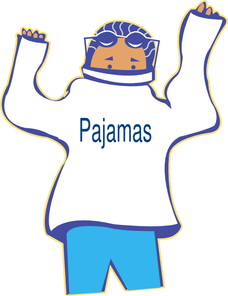 Get Pajamas On Clip Art at Clker.com - vector clip art ...