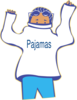 Get Pajamas On Clip Art