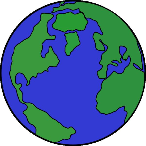 free cartoon earth clipart - photo #22