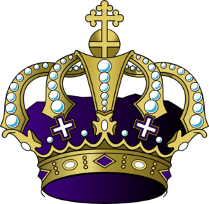 Purple Crown Clip Art
