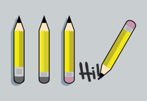 Pencil Count Clip Art