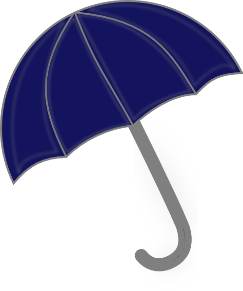 Blue Umbrella Clip Art at Clker.com - vector clip art online, royalty ...